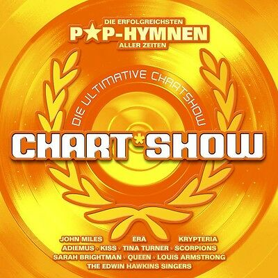 Die Ultimative Chartshow Pop Hymnen 2 Cd Queen Uvm Neu