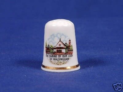 Shrine of Our Lady, Wallsingham Bone China Thimble