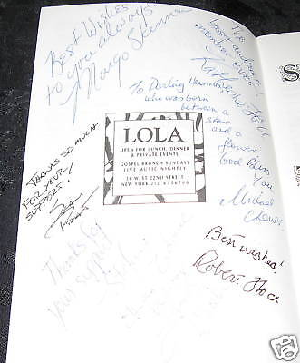 Cast SIGNED playbill OEDIPUS THE KING @ Pearl Theatre, 1993