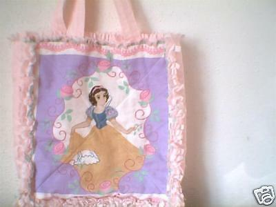 Toddler little girl rag quilt bag purse tote BELLE Beauty and the Beast