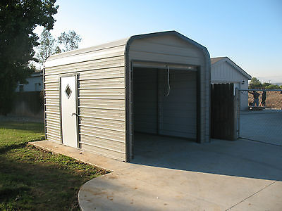 Garages storage sheds pre fab steel buildings barns kits for Pre built storage sheds