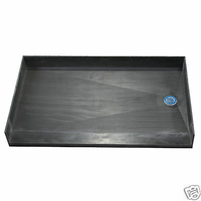 Tile Ready Shower Pan 30x60 Barrier Free - Right Drain