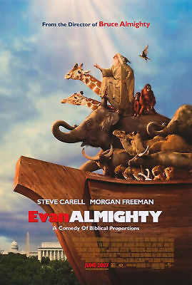 EVAN ALMIGHTY MOVIE POSTER 2 Sided ORIGINAL Final 27x40