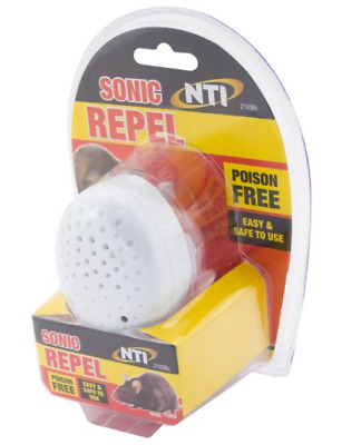 New Plug-In Mouse Rat Spider Ultrasonic Pest Repeller