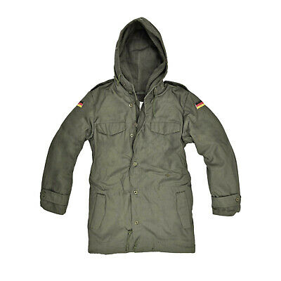 Brand New German Army Nato Parka With Hood - Olive Green