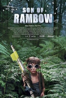 SON OF RAMBOW MOVIE POSTER 2 Sided ORIGINAL 27x40