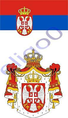 NORWAY flag coat of arms 2x stickers decals bumper