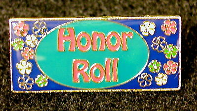 """HONOR ROLL"" Enamel Lapel Pins/Lot of 25, New in bags!"