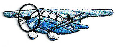 Plane - Airplane - Transportation - Pilot - Embroidered Iron On Patch - BL