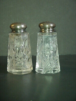 Sterling Salt & Pepper Shakers Antique