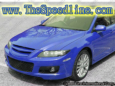 05 06 07 08 Mazdaspeed MPS 6 Sport Front Emblemless Grill Grille Atenza MPS6