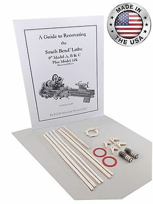 "Rebuild Book & Parts Kit for 9"" South Bend Lathe Model C - All New!"