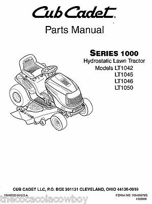 Cub Cadet Lt1050 Manualdownload - Enthusiast Wiring Diagrams • on cub cadet 1046 mower deck diagram, cub cadet 1046 parts diagram, cub cadet 1046 drive belt diagram,