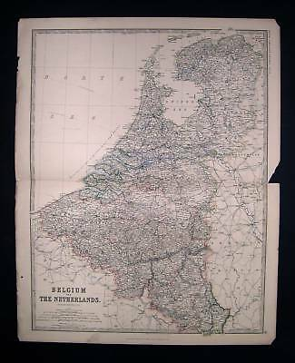 1874 JOHNSTON. Holland, Belgium, Luxembourg Netherlands