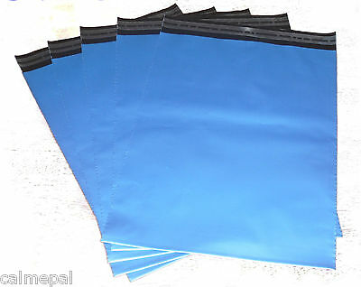 Blue Postal/mailing Bags 50 X Size 10 X14 Inch