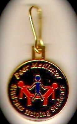 """Peer Mediator-Students..""Zipper Pulls/Shoe Charms (25)"