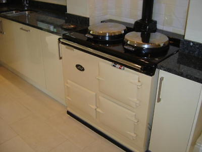 2 Oven Fully Reconditioned Aga Cooker Oil Fired including installation.