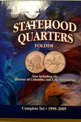 SET OF  UNCIRCULATED  STATE  QUARTERS   1999 - 2009  Date Set