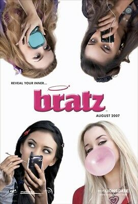 BRATZ MOVIE POSTER 2 Sided ORIGINAL ADVANCE 27x40