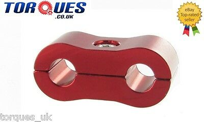 AN -3 (AN3) 6.4mm Red Billet Brake Hose Separator