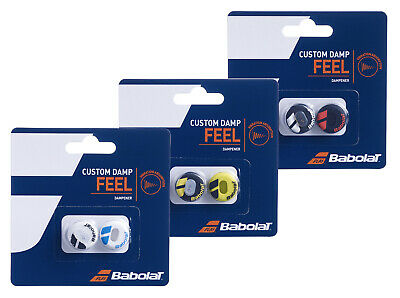 Babolat Custom Damp Vibration Shock Absorber Dampeners - Pack of 2 - Free P&P