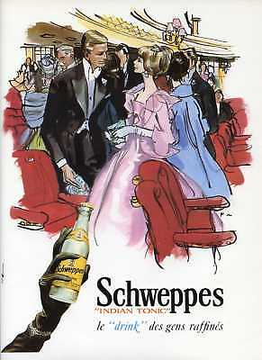 SCHWEPPES, French Ad of the 60's