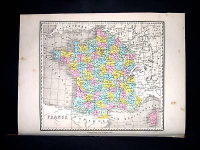 1877. FAYARD. France in 86 Department, Gaule, Corsica..