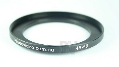 Step Up Ring 46-58mm  46mm 58mm - NEW