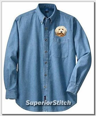 HAVANESE embroidered denim shirt XS-XL