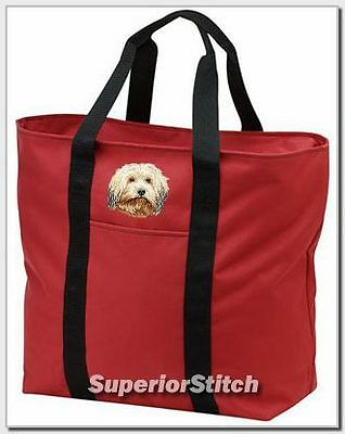HAVANESE embroidered tote bag ANY COLOR