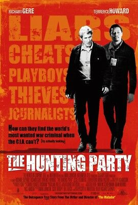 THE HUNTING PARTY MOVIE POSTER 2 Sided ORIGINAL 27x40