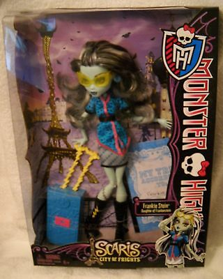 #4147 NRFB Mattel Monster High Scaris City of Frights Frankie Stein Doll