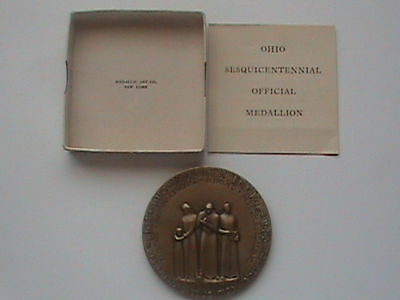 Medallic Art, OHIO Official 150th Anniversary Medal