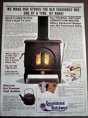 1982 Federal Convection Heaters vintage ad