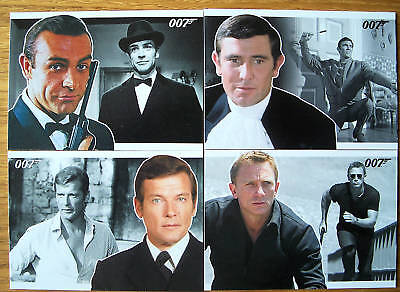 James Bond 007 Heroes & Villains Basic Trading Card Set