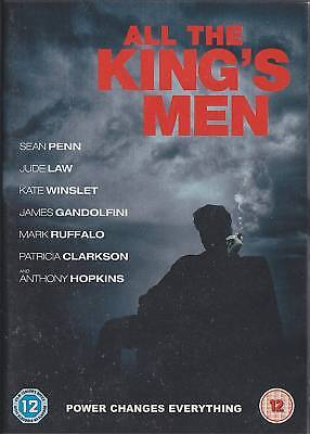 ALL THE KING'S MEN - Sean Penn, Jude Law, Kate Winslet, Anthony Hopkins (DVD 07)