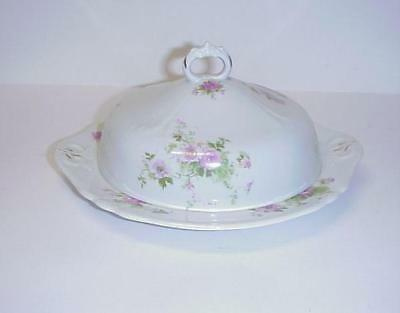 Iroquois China Co. Syracuse Covered Butter Dish