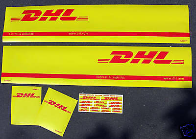 Tamiya 1/14 Truck Reefer Box trailer stickers decals