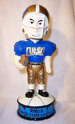 bobblehead GEORGIA H.S. 2002 FOOTBALL STATE CHAMPS - Screven GHSA bobble trophy