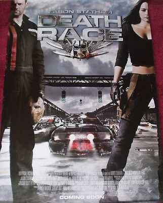 Cinema Poster: DEATH RACE 2008 (One Sheet) Jason Statham