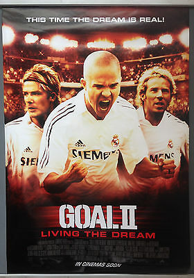 Cinema Poster: GOAL! 2 2007 (One Sheet) Anna Friel David Beckham