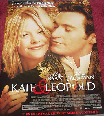 Cinema Poster: KATE & LEOPOLD 2002 (One Sheet) Meg Ryan Hugh Jackman