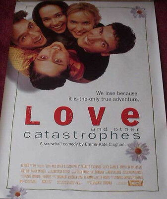 Cinema Poster: LOVE AND OTHER CATASTROPHES 1996 (One Sheet)