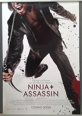 Cinema Poster: NINJA ASSASSIN 2010 (1sh) Naomie Harris