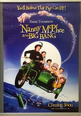 Cinema Poster: NANNY MCPHEE & THE BIG BANG 2010 1sh Adv
