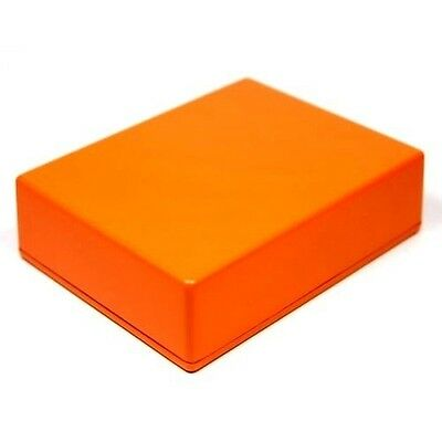 ORANGE Guitar Pedal Enclosure - professionally painted - Hammond 1590BB size