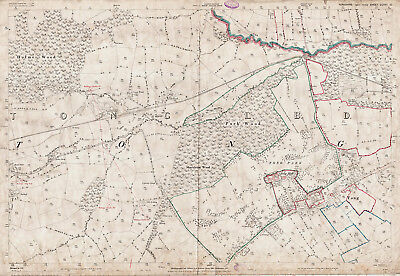 Tong - Yorkshire old map repro 217-10-1893