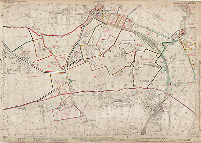 Cullingworth (S), Hewenden - Yorks map 200-16-1920-a