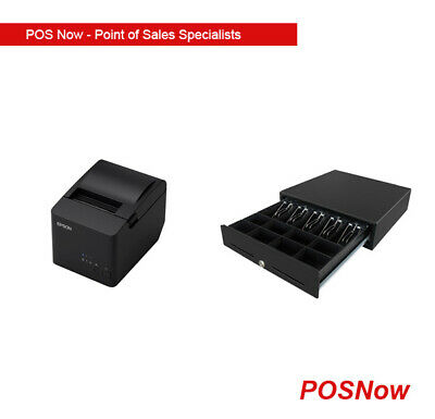 *NEW* VPOS Electronic Cash Drawer & USB Thermal Printer Combo