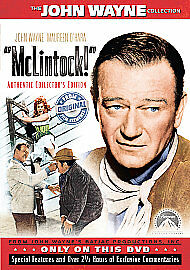 McLINTOCK - Collector's Ed. John Wayne (NEW/SEALED DVD)